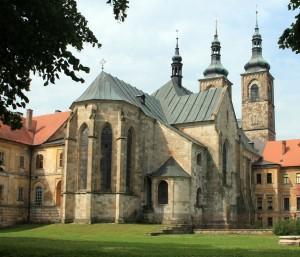 Kostel Zvěstování Páně kláštera premonstrátů v Teplé (Zdroj: Karelj, Wikimedia, CC0 1.0)