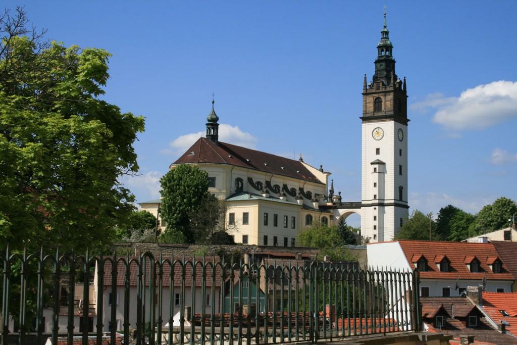 Katedrála svatého Štěpána se zvonicí v Litoměřicích (Zdroj: Wikimedia, Volné dílo)