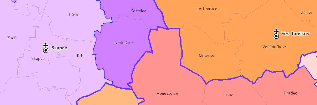 Církevní správa českých zemí v roce 1715